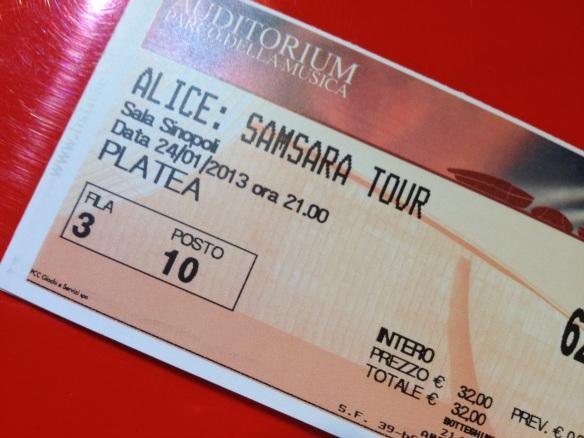 Biglietti Samsara Tour Roma